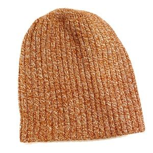 Madewell Red and White Beanie